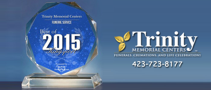 2015 Best Funeral Home Kingsport Award