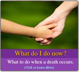 What do I do now - funeral home services