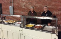 Trinity Funeral Home serves breakfast to homeless